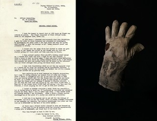 Flying Officer Edgar 'Cobber' Kain's Glove