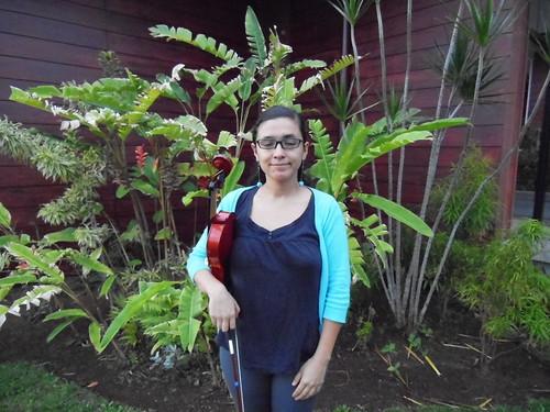 Moi et violin