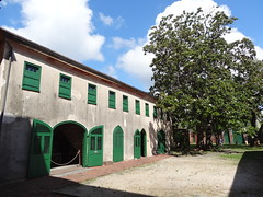 Slave quarters at Aitken Rhett House Charleston