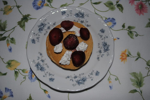 Strawberry Goat Cheese Pancakes (4)
