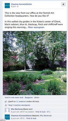 Facebook VKC omgeving tuin
