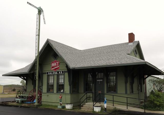 Galena Depot Galena Kansas The 1900 Depot Was