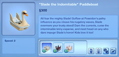 Slade the Indomitable Paddleboat