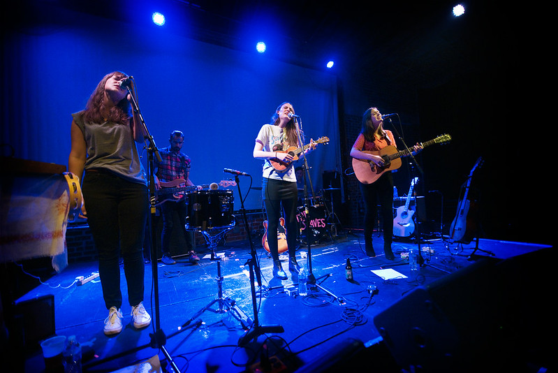 The Staves (Emily, Camilla & Jessica Camilla Staveley-Taylor  of The Staves)