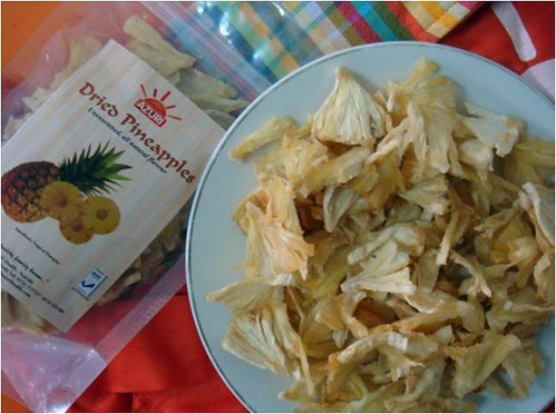 Dried pieces of pineapple (Courtesy Photo)