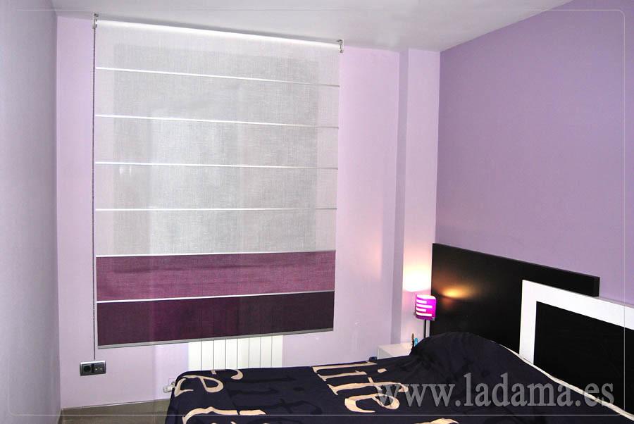 Fotograf as de dormitorios modernos la dama decoraci n - Estores para habitacion ...