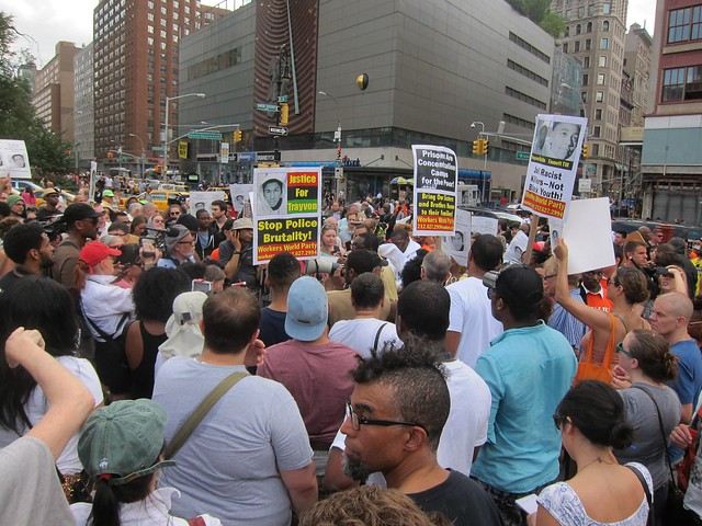 Justice For Trayvon Martin, Union Square: Crowd