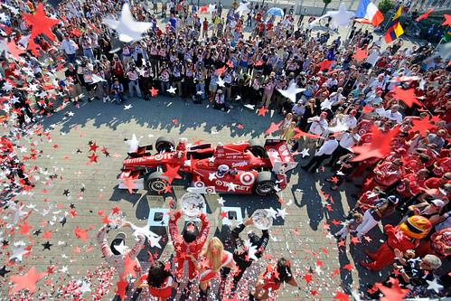 Victory Circle - race #2, Honda Indy Toronto