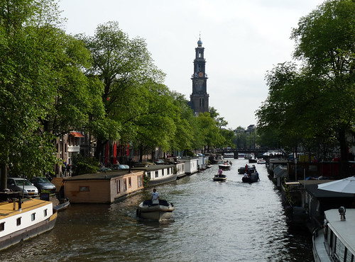 canal and tower