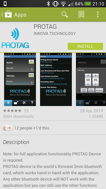 Protag - Android App