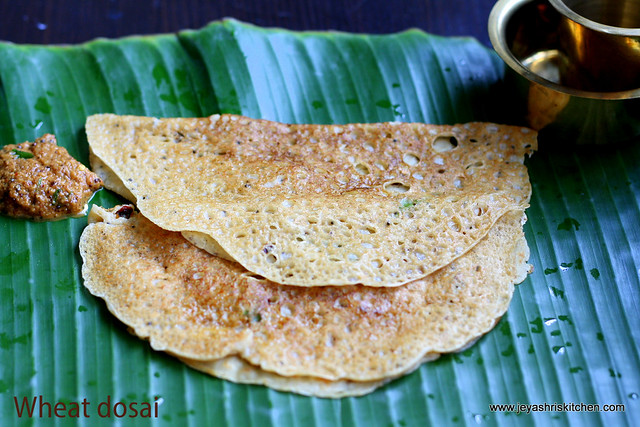 Wheat dosai