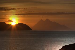 Twin Peak Sunset