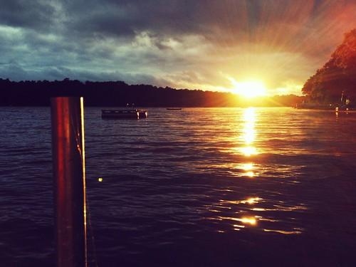 sunset wisconsin photoaday bold lovelesslake projectlife365 ladiesatloveless