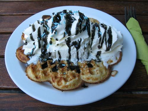 Waffle café