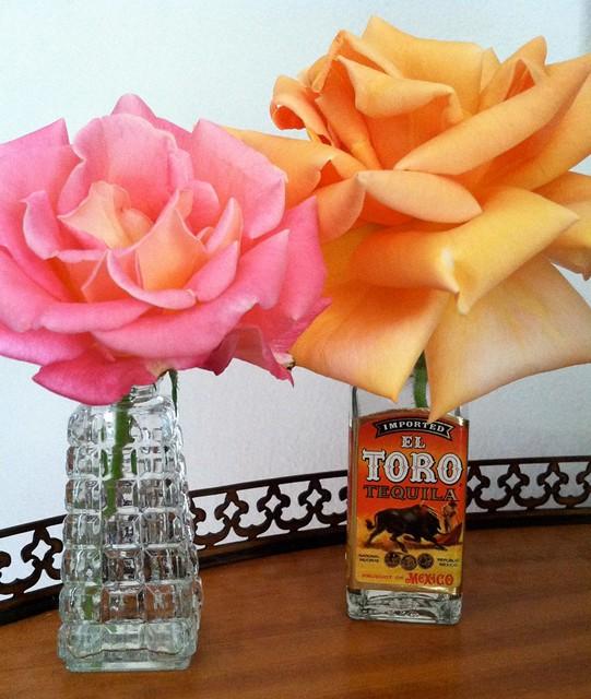 Tillie's tequila bottle