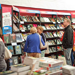 The graphic novels section in our bookshop |