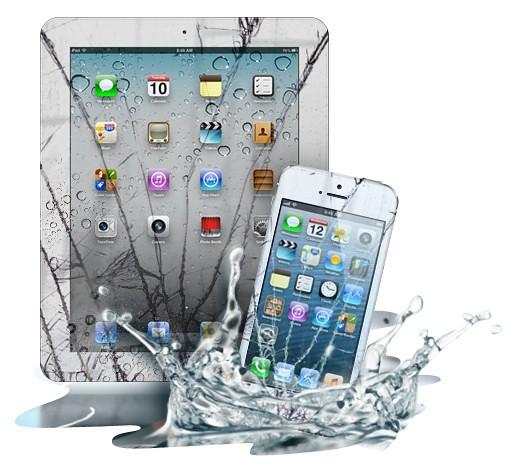 iPhone Screen Water Damage