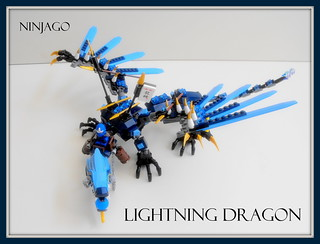 Lego Ninjago Lightning Dragon Ninjago Lightning Dragon