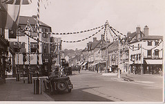 Old Postcard of Market Place, Henley