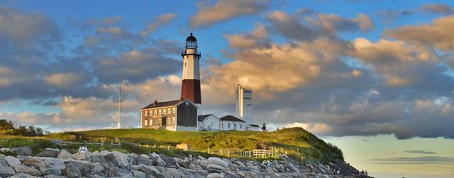 Montauk Point Postcard