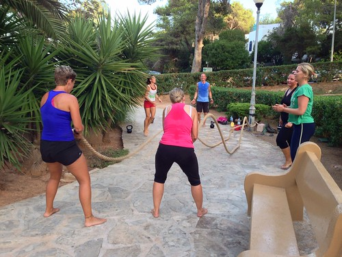 The Workout Club Ibiza Battle Rope