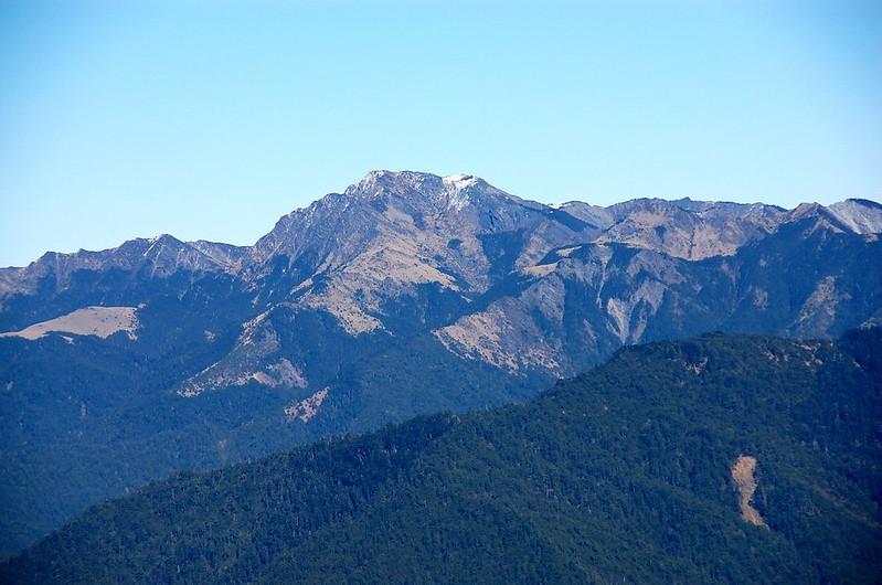 南湖大山(From 閂山 ) 2