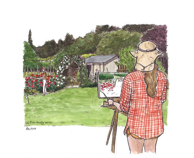 pence garden tour 2014