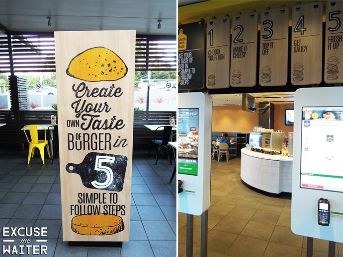 McDonald's Create Your Taste Burgers, Castle Hill