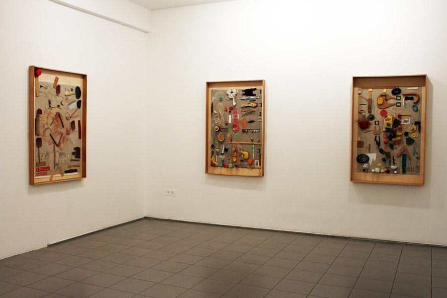 איצ'ה גולומבק בגלריה גבעון, צילום: דורון גולן