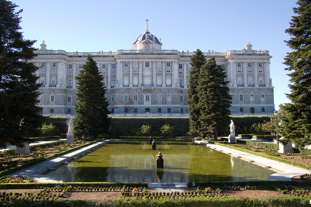 Jardines de Sabatini and Palacio Real