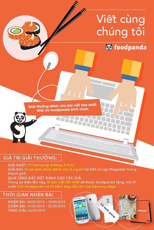 [Chia sẻ] Cơ hội dùng thử miễn phí và nhận quà tặng của FoodPanda Việt Nam - Savoury Days