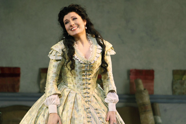 Marina Rebeka in La traviata © 2015 ROH. Photograph by Catherine Ashmore