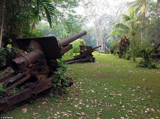 Japanese Type 96 15 cm howitzers