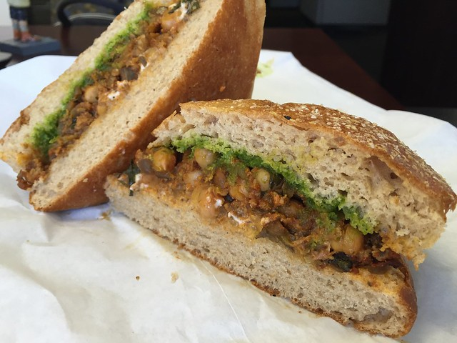 Lamb and eggplant sandwich - The Sentinel