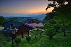 Mountain Lanterns at Sundown