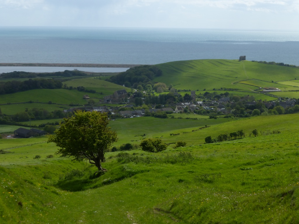 Looking back to Abbotsbury