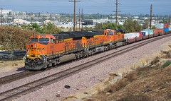 BNSF's Newest at Grand Terrace