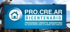 creditos del procrear para construccion