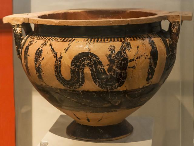 Herakles 11th Labor By Sophilos