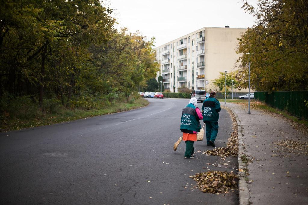 20161102 Hajléktalan közmunkások Ferencváros