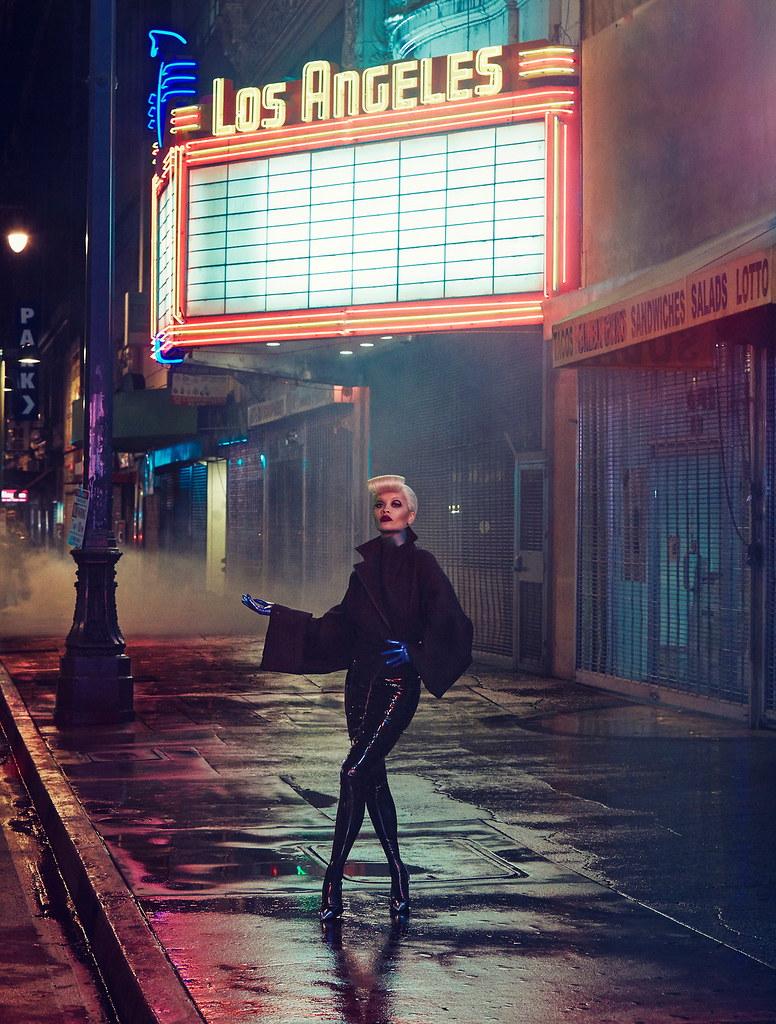 Рита Ора — Фотосессия для «Vogue» IT 2016 – 1