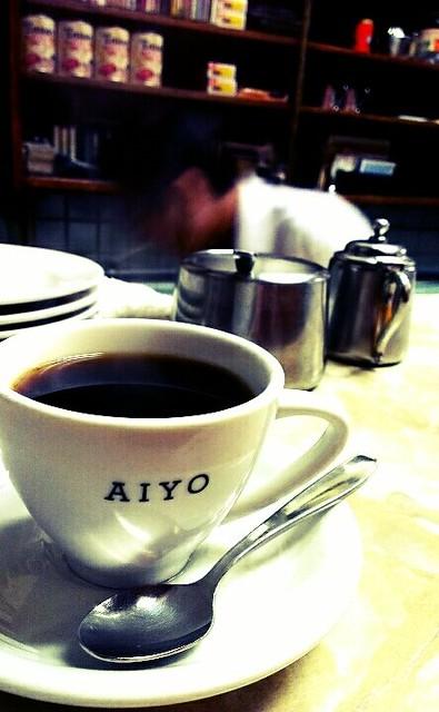 築地場內市場愛養咖啡店。