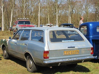 1975 Ford Cortina 1600 XL Estate.