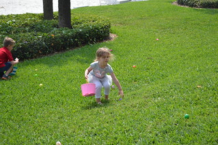 Family egg hunt
