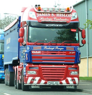 DAF XF - JAMES S.HISLOP Roxburgh Kelso Borders Scotland