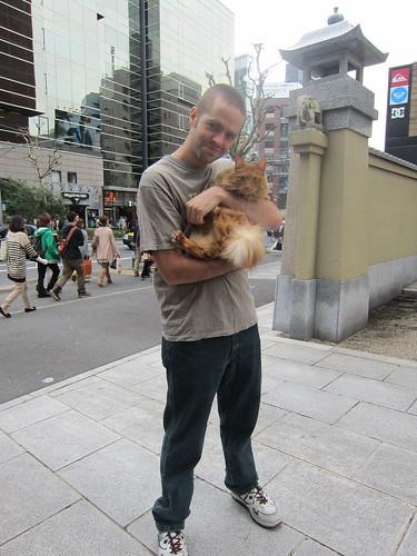 Dan and Penny in Shibuya