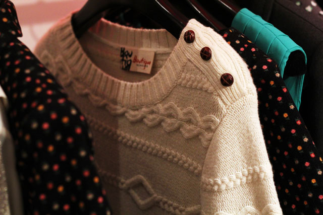 Boutique by Jaeger AW12 cable jumper