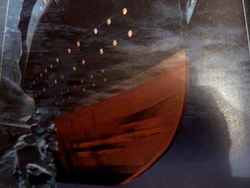 а_Титаник столкнулся с айсбергом