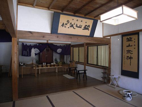 笠山荒神社「竹林寺」@桜井市笠-12