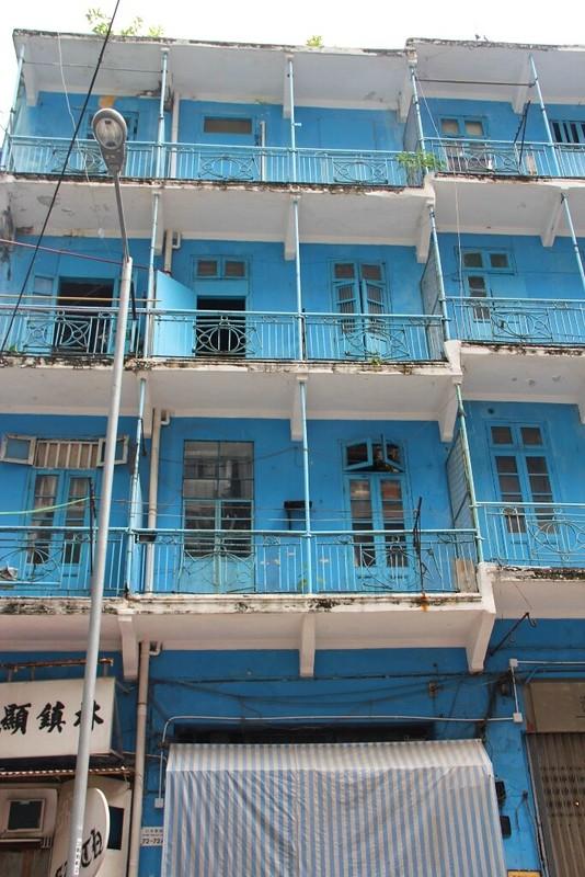 Blue House Wan Chai Hong Kong